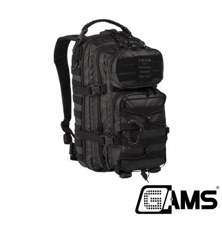 Mochila Miltec 20 litros Assault Pack color negro